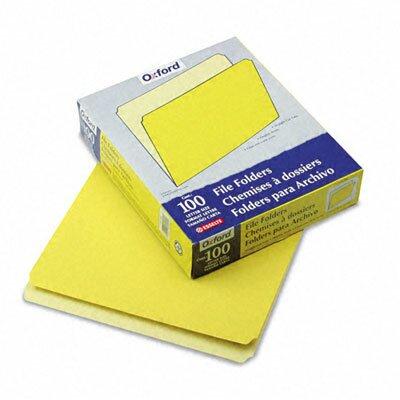 Esselte Pendaflex Corporation Two-Tone File Folder, Straight Top Tab, Letter, 100/Box