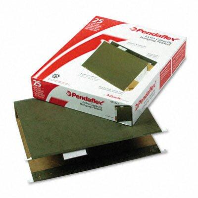 "Esselte Pendaflex Corporation Reinforced 2"" Extra Capacity Hanging Folders, Letter, 25/Box"
