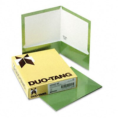 Esselte Pendaflex Corporation Oxford Two-Pocket Laminated Folder, 100-Sheet Capacity