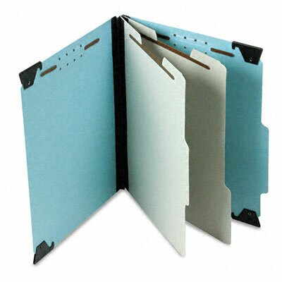 Esselte Pendaflex Corporation Pressboard Hanging Classification Folder with Dividers, Six-Section, Letter