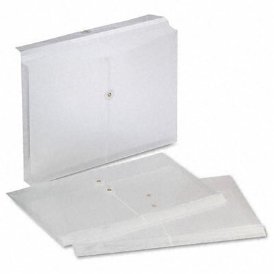 Esselte Pendaflex Corporation Expandable Poly String and Button Booklet Envelope, Legal