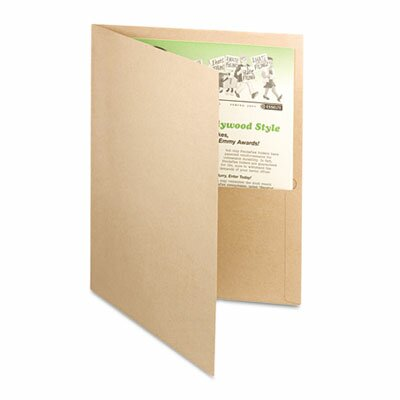 Esselte Pendaflex Corporation Earthwise By Oxford Earthwise 100% Recycled Paper Twin-Pocket Portfolio