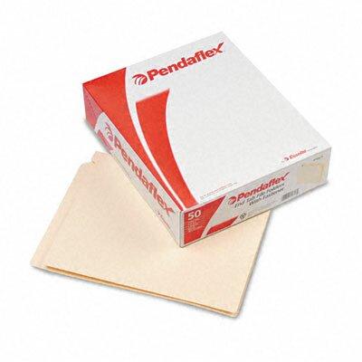 Esselte Pendaflex Corporation End Tab Expansion Folders, 1 Fastener, Straight Cut Tab, Letter, 50/Box