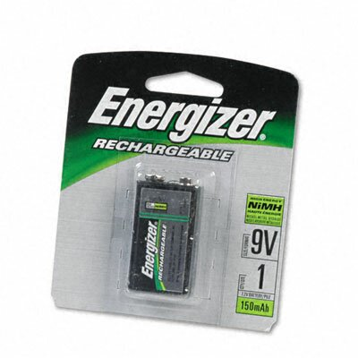 Energizer® E2 Nimh Rechargeable Battery, 9V