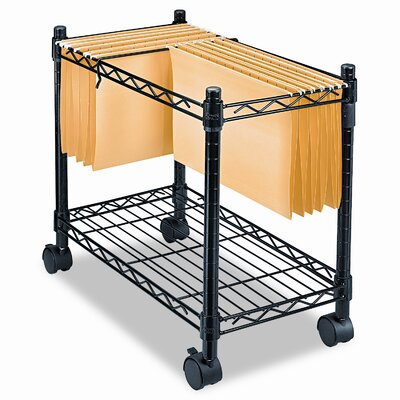 Fellowes Mfg. Co. High-Capacity Rolling File Cart