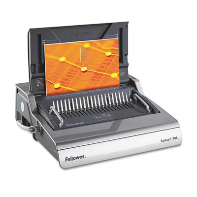 Fellowes Mfg. Co. Galaxy Comb Binding System, 500 Sheets