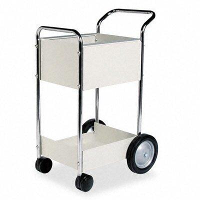 Fellowes Mfg. Co. Steel Mail Cart