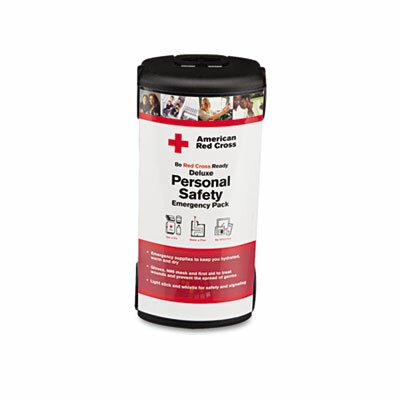 First Aid Only™ Deluxe Personal Safety Emergency Pack, 31 Pieces, Plastic Case