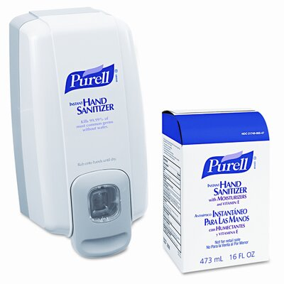 GOJO Industries Purell Nxt Space Saver Hand Sanitizer Dispenser and Refill