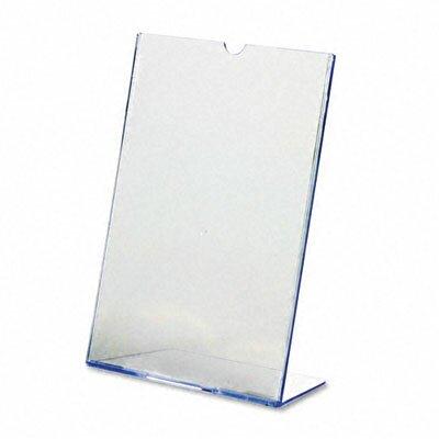 """Deflect-O Corporation Slanted Desk Sign Holder, 8.5"""" Wide"""