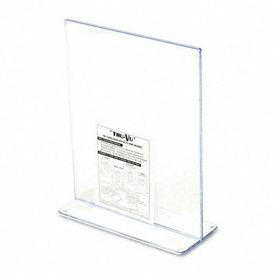 Deflect-O Corporation Stand-Up Double-Sided Sign Holder