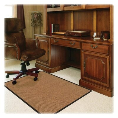 Deflect-O Corporation Low Pile Carpet Straight Edge Chair Mat