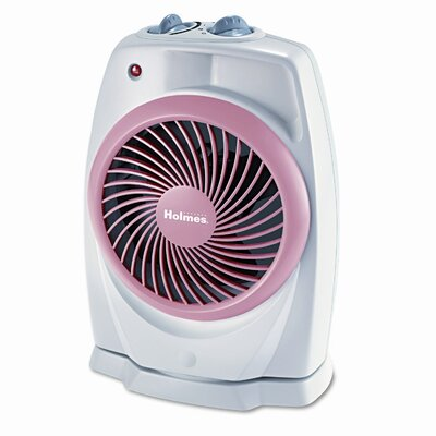 Holmes® Holmes® ViziHeat Power 1,500 Watt Portable Electric Fan Compact Heater with Thermostat