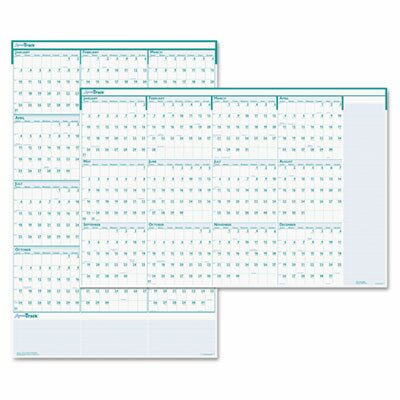 House of Doolittle Express Track Reversible/Erasable Yearly Wall Calendar, 24 x 37, 2013