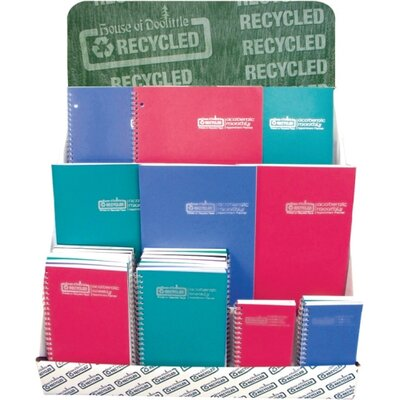 """House of Doolittle Wirebound Leatherette Monthly Planners, 14 Mos, 8-1/2""""x11"""", Red, 2013"""