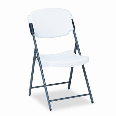 Iceberg Enterprises Folding Chair in Platinum (Pack of 4)