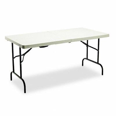 "Iceberg Enterprises Iceberg Indestruc-Tables Too™ 1200 Series Bi 60"" Rectangular Folding Table"
