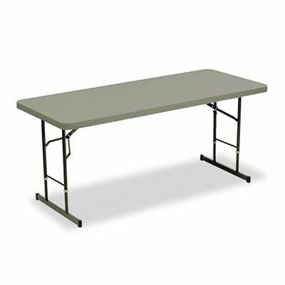 "Iceberg Enterprises Iceberg Adjustable Height 72"" Rectangular Folding Table"