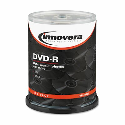 Innovera® DVD-R Disc, 100/Pack