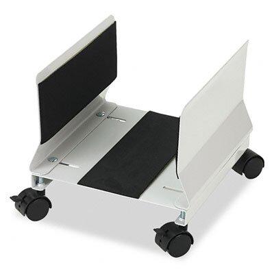 """Innovera® 2.6"""" H x 10.55"""" W Desk Mobile CPU Stand"""