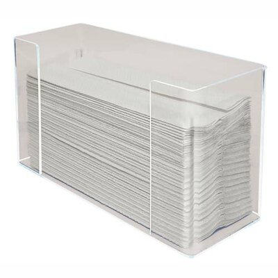 Kantek Kantek Acrylic C-Fold Dispenser, Clear