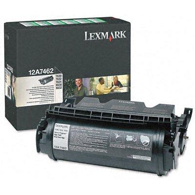 Lexmark International 12A7462 High-Yield Toner, 21000 Page-Yield