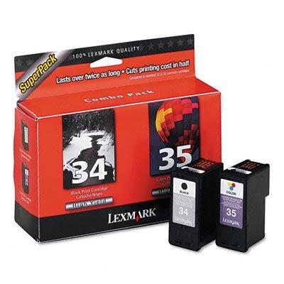 Lexmark International 18C0535 (34, 35) High-Yield, 2/Pack