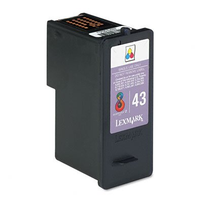 Lexmark International 18Y0143 Ink Cartridge, 500 Page-Yield