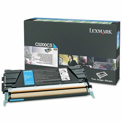 Lexmark International C5200CS Toner Cartridge, 1500 Page-Yield