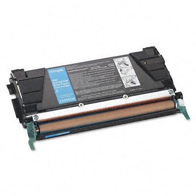 Lexmark International C5240CH High-Yield Toner, 5000 Page-Yield