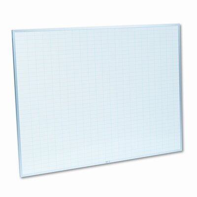 Magna Visual, Inc. Planning Wall Mounted Whiteboard, 3' x 4'
