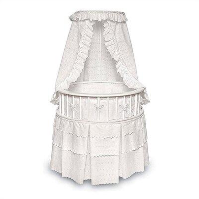 Badger Basket Elegance Bassinet with Bedding