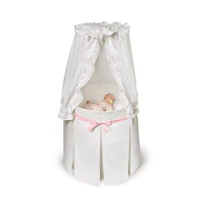 Badger Basket Empress Round Baby Bassinet II