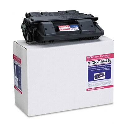 MicroMICR Corporation MICRTJA416 Compatible MICR Toner, 6000 Page-Yield, Black