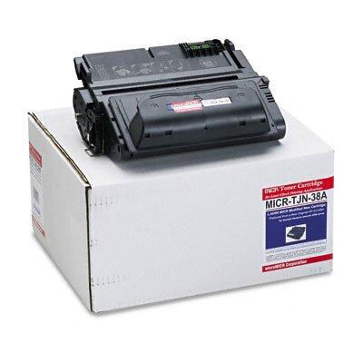 MicroMICR Corporation MICRTJN38A Compatible MICR Toner, 15000 Page-Yield, Black