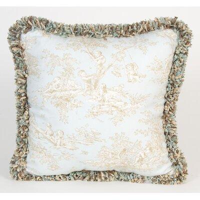 Glenna Jean Central Park Toile Throw Pillow