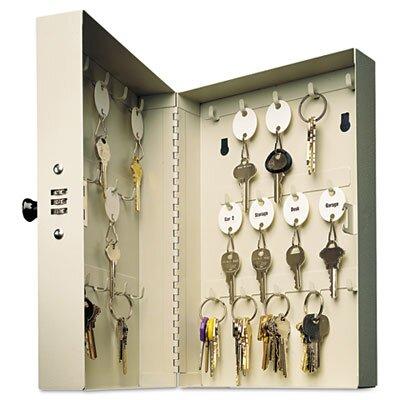 MMF Industries Steelmaster Hook-Style Key Cabinet