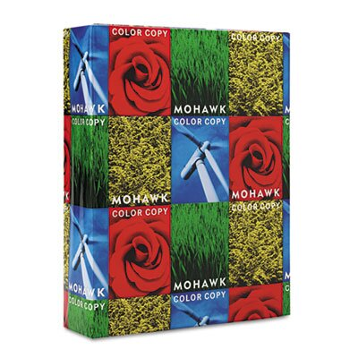 Mohawk Fine Papers 100% Recycled Color Copy/Laser Paper, 96 Brightness, 28lb, Letter, 500 Sheets