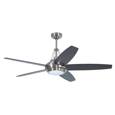 "56"" Tangent 5 Blade Ceiling Fan Product Photo"