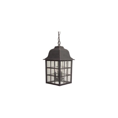 Craftmade 3 Light Outdoor Hanging Lantern