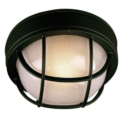 Bulkhead 1 Light Flush Mount Product Photo