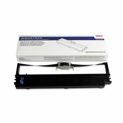 OKI Printer Ribbon in Black for 620 and 690 Printers