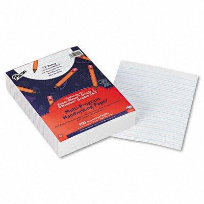 "Pacon Corporation Multi-Program Handwriting Paper, 0.5"" Short Rule, 500 Sheets/Pack"