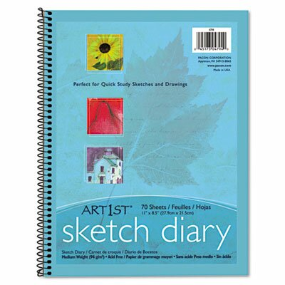 Pacon Corporation Art1St Sketch Diary,70 Sheets
