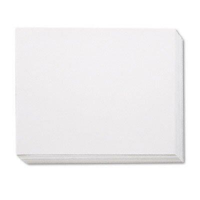 Pacon Corporation White Four-Ply Poster Board, 28 x 22, 100 per Carton
