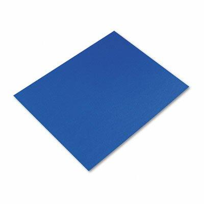 Pacon Corporation Colored Four-Ply Poster Board, 28 x 22, Dark Blue, 25 per Carton
