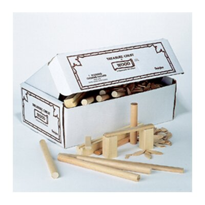 Pacon Corporation Treasure Chest Of Wood