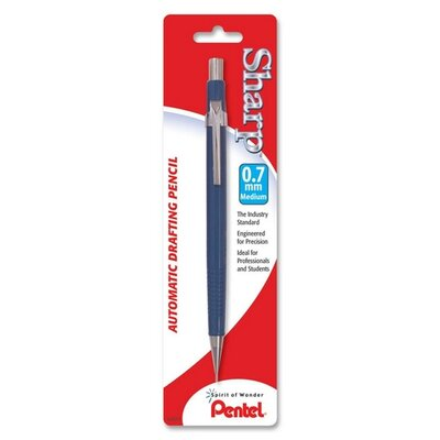 Pentel of America, Ltd. Automatic Pencil, Refillable, 0.7mm, Assorted