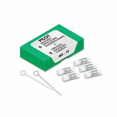 Pilot Pen Corporation of America Eraser Refills, 70001, 5/Pack