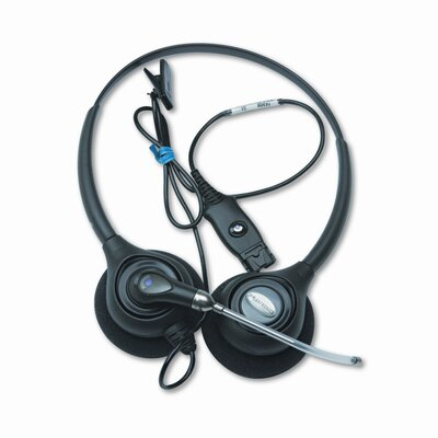 Plantronics Supraplus Binaural Over-The-Head Wideband Headset